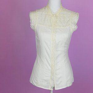 Do&Be Sleeveless Crochet Top
